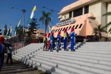 Paskriba Provinsi Lampung terus jalani latihan jelang HUT RI