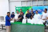 BPJS Ketenagakerjaan Cabang Makassar bagikan daging kurban
