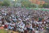 Ratusan umat muslim Waena ikuti shalat Idul Adha di Denzipur