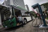 Menhub ingin pengembangan bus listrik sebagai transportasi umum ramah lingkungan