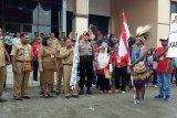 Seratusan peserta meriahkan Karnaval Berwawasan Nusantara di Timika