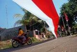 Bendera merah putih 350 meter