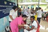 23 balita dapat pelayanan imunisasi polio di Dosay