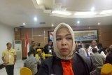Status komisioner KPU Palembang sebagai terpidana belum jelas