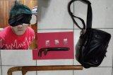 Polisi ringkus pembacok,  darinya polisi temukan tiga paket sabu