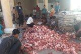 Ponpes Riyadus Sholihin bagikan 1.700 daging kurban