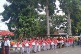 Ribuan siswa siswi madrasah di NTB mengikuti pawai karnaval KSM