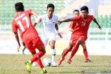 Timnas U-16 berhasil kalahkan tuan rumah Myanmar dilaga perdana