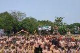 Peringati HUT Pramuka, Kwarcab Konawe Utara gelar kemah akbar