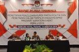 KPU plenokan penetapan calon terpilih anggota DPRD Sumbar