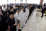 206 pejabat di lingkungan Pemkot Magelang dilantik