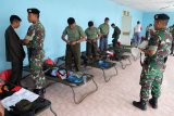 Kodam I/BB bagikan seragam militer peserta SMN Sulteng