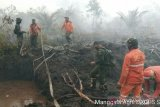 Hujan guyur Siak, Manggala Agni tetap lakukan pemadaman