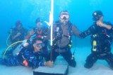 Kapolda Papua pimpin selam pengibaran Merah Putih di Teluk Humboltd