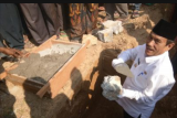 Bupati Sijujnjung letakan batu pertama masjid raya