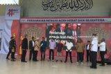 100 orang mantan kombatan GAM terima sertifikat tanah