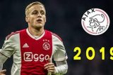 Donny van de Beek betah di  Ajax