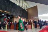 Menkeu Sri Mulyani kenakan kebaya hijau ke Sidang Tahunan MPR
