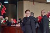 Menteri Susi Pudjiastuti hadiri Sidang Tahunan MPR dengan tampilan serba hitam