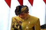 Presiden kenakan pakaian adat Sasak dalam sidang DPR-DPD RI