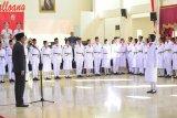 Gubernur Sulawesi Selatan kukuhkan 73 anggota  Paskibraka