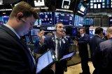 Saham-saham Wall Street naik tipis setelah data pekerjaan AS beragam