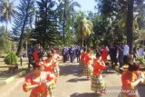 23 Siswa Mengenal Nusantara disambut tarian adat Mekongga
