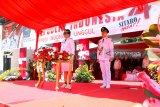 Bupati Sitaro Evangelian Sasingen Pimpin Upacara HUT RI
