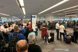 Gangguan sistem,  Ribuan calon penumpang terlantar di bandara-bandara AS
