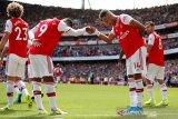 Aubameyang kembali bawa Arsenal menang 2-1