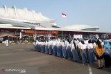 Angkasa Pura II upacara HUT RI di Palangka Raya bersama peserta SMN Sumsel