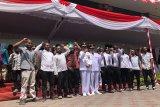 Mahasiswa Papua menyuarakan pengamalan Pancasila saat HUT RI