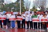 Empat BUMN serahkan bantuan Rp2,35 miliar di Lombok