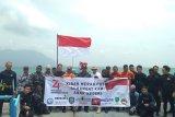 Antara turut kibarkan bendera di dasar laut Natuna