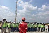 Peserta SMN dari Yogyakarta jelajah Tol Pekanbaru-Dumai usai upacara HUT RI