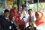Trans Padang resmi gunakan sistem Non tunai