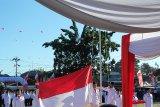 Upacara HUT Proklamasi RI oleh jajaran BUMN Sulut
