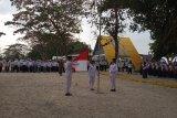 BUMN gelar upacara HUT RI di destinasi wisata Lampung