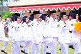 Pekerja migran menjadi paskibra di Johor