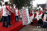 Jalan sehat BHUN semarakkan peringatan HUT ke-74 RI di Kalteng