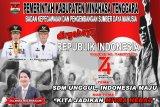 BK-PSDM Minahasa Tenggara mengucapkan Dirgahayu Kemerdekaan RI ke 74 Tahun