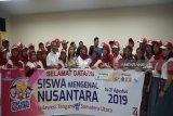 Peserta SMN Sulawesi Tengah kunjungi SMA Unggul Del