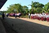 Anak TKI di CLC Nusantara peringati HUT RI ke-74