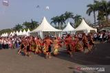 SMN asal Kalteng bawakan tari Mandau di Palembang