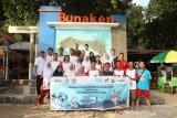 Peserta SMN Jawa Tengah nikmati keindahan Taman Laut Bunaken