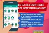 Yogyakarta menyiapkan 10 telepon pintar untuk pengguna baru JSS