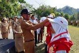 Peserta SMN Sulsel apel pagi bersama ASN Pemkot Jayapura