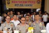 Polda Jambi gagalkan pengiriman 2,2 kg sabu ke Kota Palembang