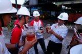 SMN Sulawesi Tengah belajar proses pengolahan kelapa sawit