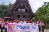 Peserta SMN asal Sulawesi Tengah kunjungi  Danau Toba